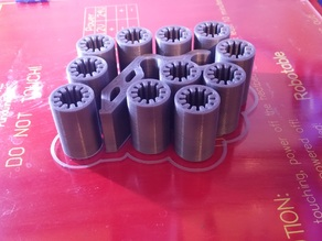 PLA bushing 8mm better printability