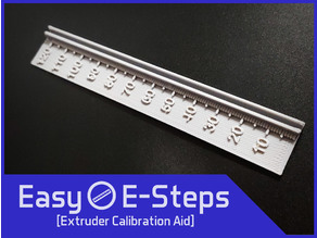 Easy E-Steps Extruder Calibration and Measurement Tool for M92 Esteps