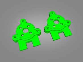 Reptile Harrier S1100 Removable Motor Mounts
