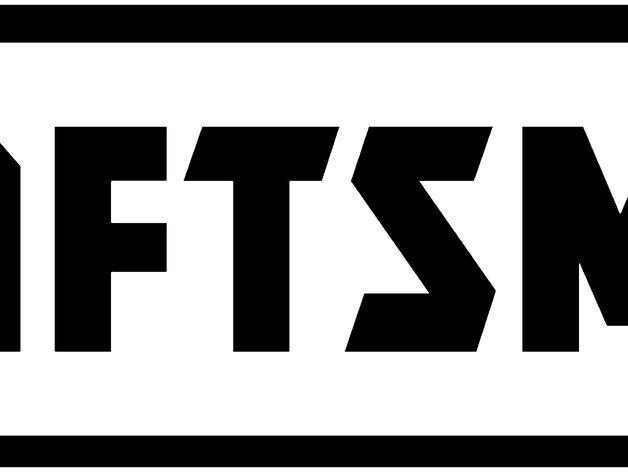 Craftsman logo emblem by Plastic_Innovations - Thingiverse