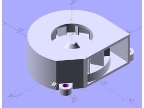 SEPA  TFB45A 45mm radial fan model for mockups