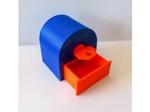 3D printed lock