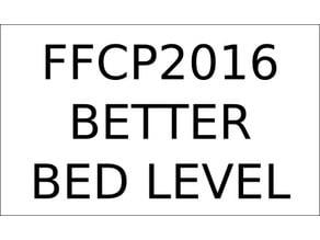 Leveling File - FlashForge Creator Pro 2016