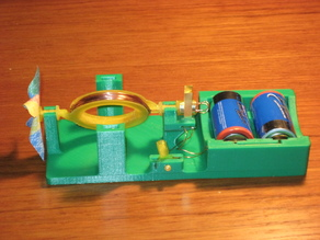 A Simple Direct Current Electric Motor