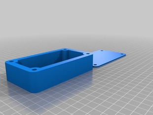Box with Lid and screw holes