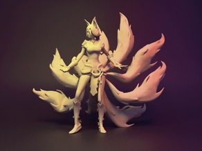 Foxfire Ahri League of Legends