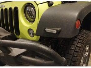 Jeep Wrangler Light Mount