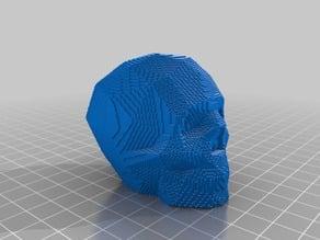 voxel skull