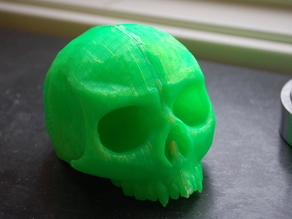 Skull shift knob by a_shs