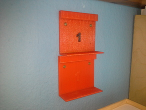 Wall holder for IKEA Paperbox