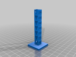 Nexeo3D Temperature Test 260-230º