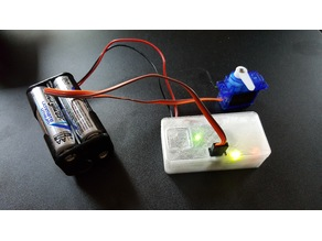 Arduino Nano Based Servo Tester Project Box