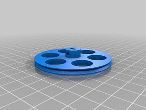 Faisal Wheel fohttps://customizer.makerbot.com/things/862438/files/1657619#r 28BYJ-48 stepper motor