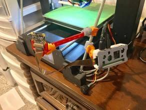 Z Brace Pi Zero W & Cam- adjustable, snap-together, toolless mount system