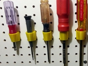pegboard screwdriver funnel