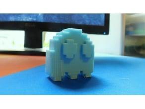 Pixel Pacman Ghost