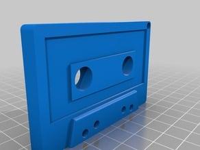 Cassette Keychain double side