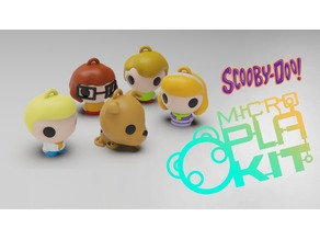 Scooby-Doo! Set (MicroPlaKit Series)