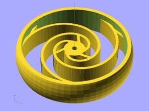 Ekobots - Spiral Tire.