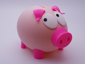 Mr Biggy Panks - The Rather Shy Piggy Bank
