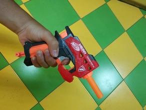 Nerf Bigshock Elite barrel
