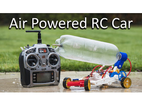 Air Powered RC Car