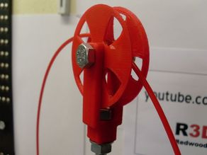Filament pulley printertop