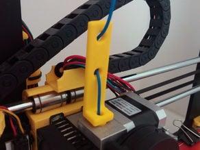 "Flexible filament tensor for ""Prusa i3"" BQ Hephestos"