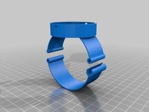 Lilypad Arduino wristband holder using clasp