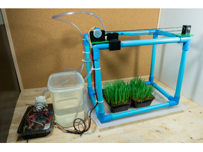 IoT Automatic Plant Watering System Parts