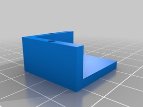 Simple picture or mirror corner mount
