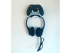 XBox One Controller & Headset Hanger