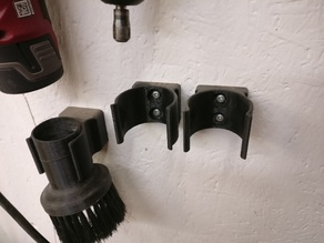 Round tool wall holders