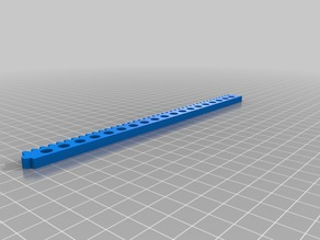 Toothed rack and gear module 1.5