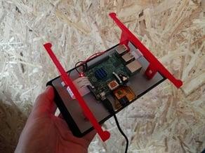 Raspberry Pi Touchscreen wall mount