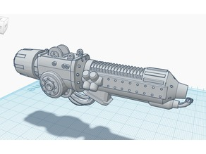 Imperial Knight Castellan Plasma Incinerator