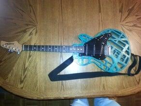 Stratocaster/Les Paul Hybrid Guitar