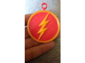 The Flash Emblem KeyChain
