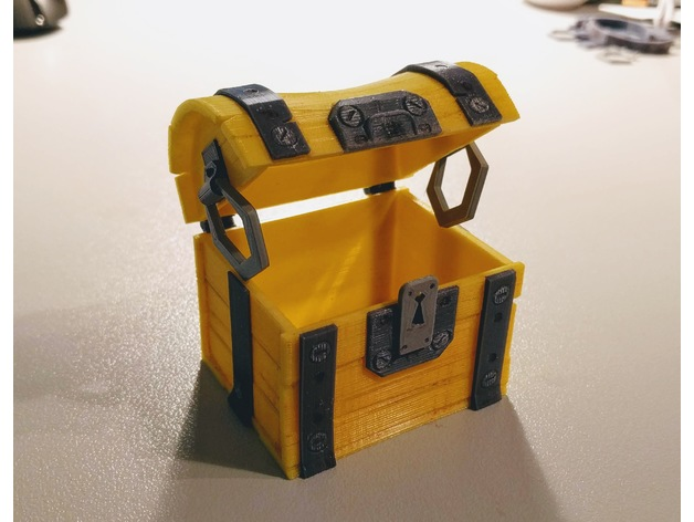 Thingiverse Fortnite Chest Fortnite Chest By Blecheimer Thingiverse