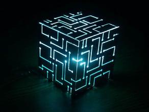 Alien Cube - Laser Cut