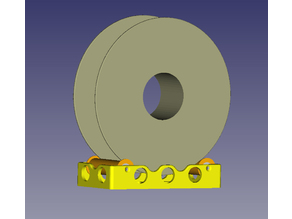 Filament Spool tray