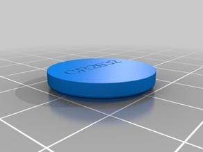 CR2032 coin battery model