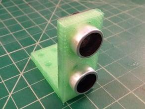 Angle mount for ultrasonic sensor