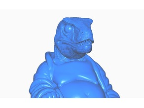 Velociraptor Buddha (Dino Collection)