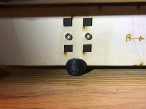 Vibration Isolator Foot for MakerFarm Prusa i3v
