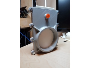 110 mm Blast Gate for Dust Collection System