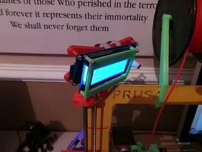 Swivel hinge and base for LCD holder