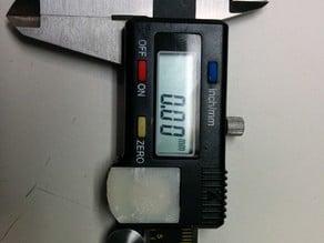 Digital Caliper Battery Cover