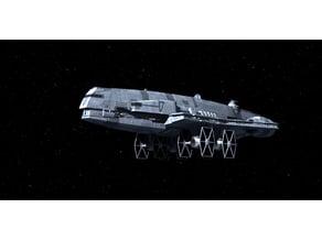 Star Wars Gozanti-class Cruiser