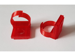 Cable clip for alfer coaxis profiles